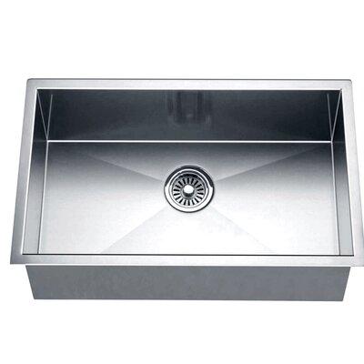 dawn usa 26   x 18   under mount square single bowl kitchen sink  u0026 reviews   wayfair dawn usa 26   x 18   under mount square single bowl kitchen sink      rh   wayfair com