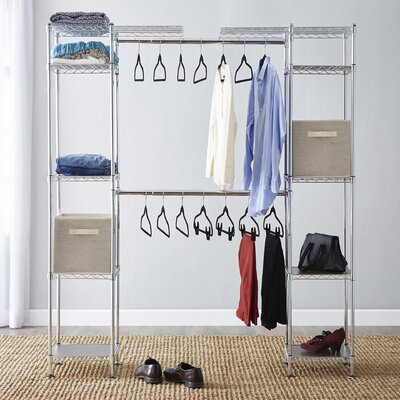 Wayfair Basics Wayfair Basics 58 W 83 W Closet System With