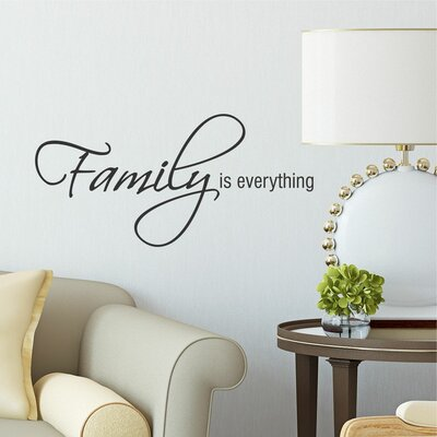 Belvedere Designs Llc Family Is Everything Wall Decal & Reviews