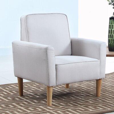 Mid Century Modern Fabric Living Room Armchair   Allmodern