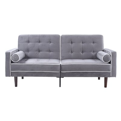 Madison Home USA Mid Century Modern Convertible Sofa U0026 Reviews | Wayfair