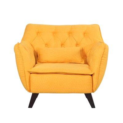Madison Home USA Mid Century Modern Lounge Chair   Reviews   Wayfair. Modern Yellow Lounge Chair. Home Design Ideas