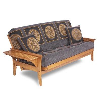 lifestyle solutions santa cruz futon frame u0026 reviews   wayfair cruz futon   furniture shop  rh   ekonomikmobilyacarsisi