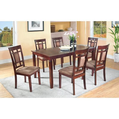 darby home co patrick 7 piece dining set & reviews | wayfair