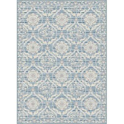 Darby Home Co Dixon Light Blue Area Rug U0026 Reviews | Wayfair