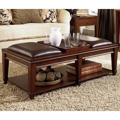 darby home co fitzhugh coffee table with tray top & reviews | wayfair
