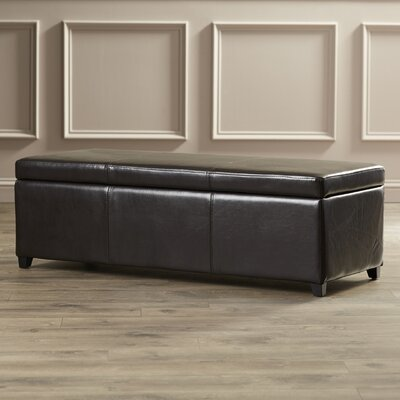 Charlton Home Ephraim Leather Storage Bedroom Bench & Reviews   Wayfair - Charlton Home Ephraim Leather Storage Bedroom Bench & Reviews