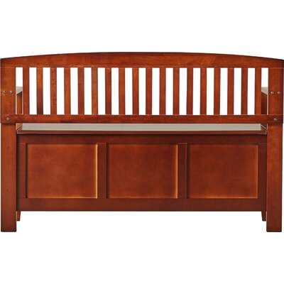 Charlton Home Wood Storage Entryway Bench Reviews