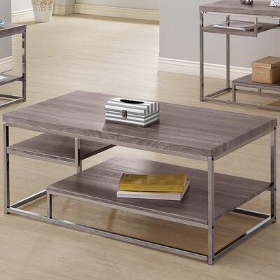 varick gallery estes coffee table & reviews   wayfair