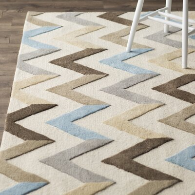 Varick Gallery Medina Ivory Grey Chevron Area Rug   Reviews   Wayfair. Grey Chevron Living Room Rug. Home Design Ideas