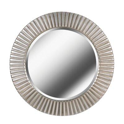 Silver Wall Mirrors brayden studio silver wall mirror & reviews | wayfair
