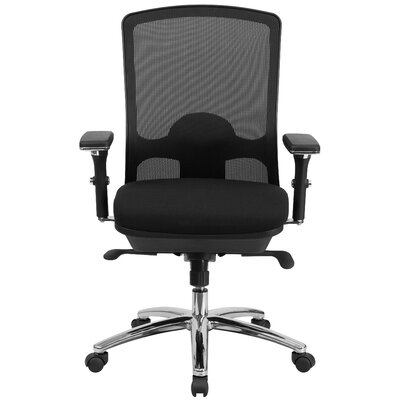 brayden studio dewalt mid-back mesh desk chair & reviews | wayfair