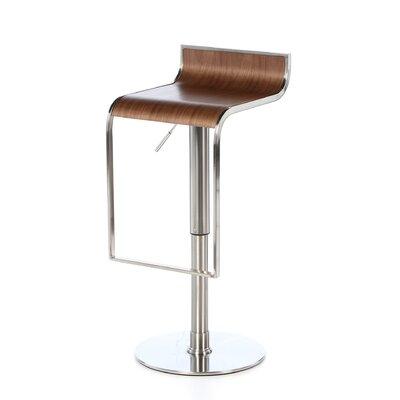Orren Ellis Bannerdown Contemporary Adjustable Height Swivel Bar Stool U0026  Reviews | Wayfair