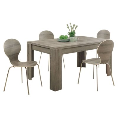 Wade Logan Bernard Dining Table Amp Reviews Wayfair