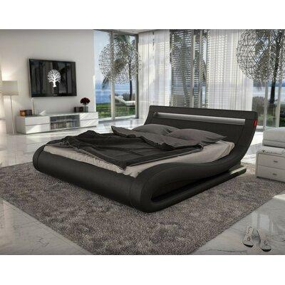 Wade Logan Belafonte Upholstered Platform Bed U0026 Reviews   Wayfair