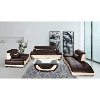 Wade Logan Phillipsburg 4 Piece Living Room Set & Reviews   Wayfair