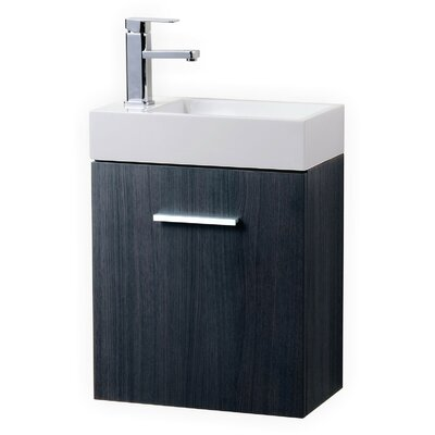 valentino ii modern bathroom vanity set wade single wall mount oslo 24 inch sale