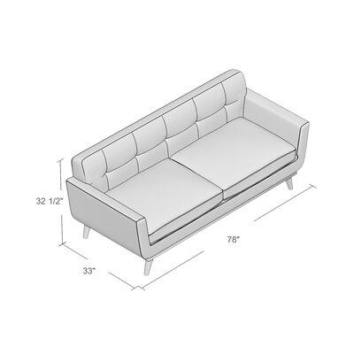 Johnston Tufted Upholstered Sofa Reviews AllModern - Tufted upholstered sofa