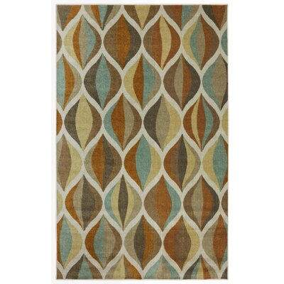 Langley Street Culmore Taupe Ornamental Ogee Area Rug U0026 Reviews | Wayfair