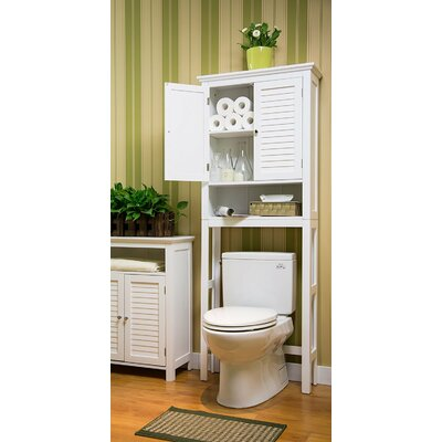 Glitzhome Spacesaver 68 H x 26 W Over the Toilet Cabinet