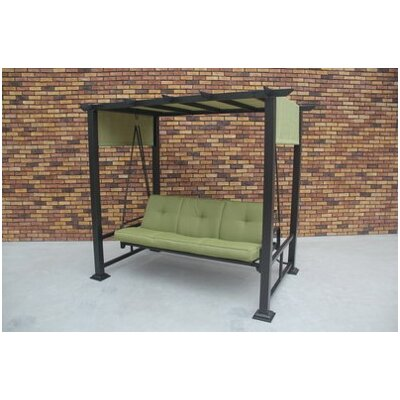 - Darby Home Co Trevino 3 Person Porch Swing With Stand Wayfair