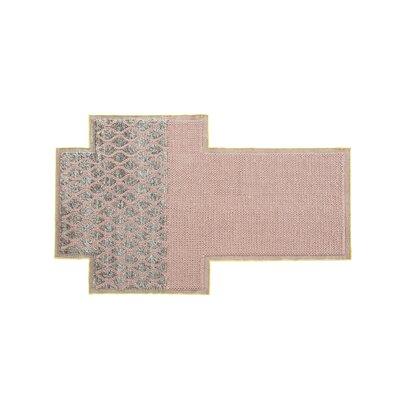 Gan Rugs gan rugs mangas space rhombus pink area rug   wayfair
