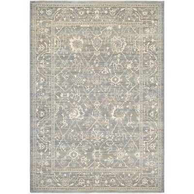 Lark Manor Alison Persian Arabesque Gray/Cream Area Rug U0026 Reviews | Wayfair