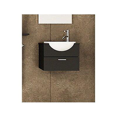 Jwh Living Mira 20 9 Single Wall Mounted Modern Vanity Set Reviews Wayfair Ca