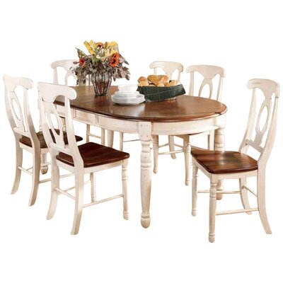 august grove buena extendable dining table & reviews | wayfair