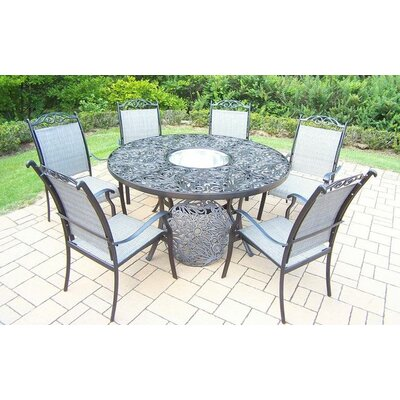 Read Reviews Basile 7 Piece Dining Set by August Grove