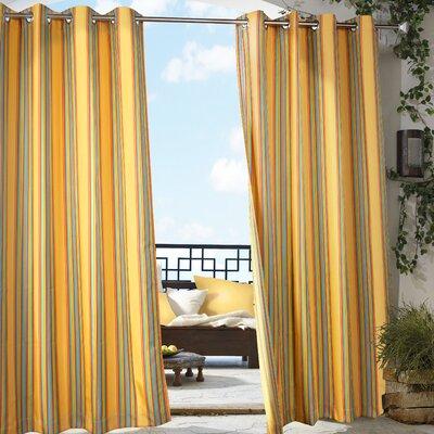 ... de Leon Indoor/Outdoor Single Curtain Panel & Reviews  Wayfair.ca