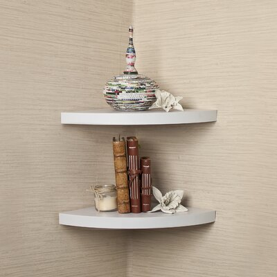 Corner Shel Beachcrest Home Rustic Corner Radial Corner Shelf & Reviews  Wayfair