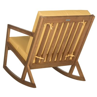 Modern Celeta Patio Rocking Chair  AllModern