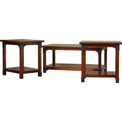 loon peak penrose-portland 3 piece coffee table set & reviews