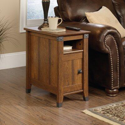 Loon Peak Newdale End Table With Storage U0026 Reviews | Wayfair