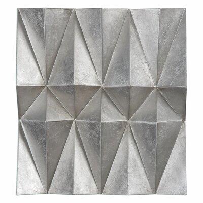 Silver Metal Wall Decor 17 stories silver metal wall décor & reviews   wayfair