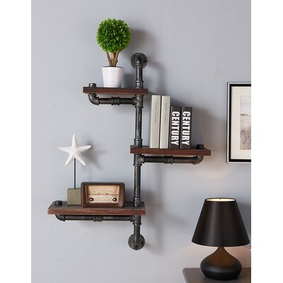 Trent Austin Design 3 Shelves Wood Floating Wall Shelf & Reviews | Wayfair