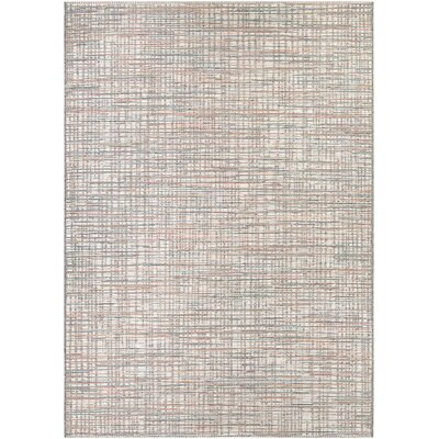 Trent Austin Design Napa Ivory/Coral Indoor/Outdoor Area Rug ...