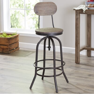 Trent Austin Design Howe Adjustable Height Bar Stool u0026 Reviews | Wayfair & Trent Austin Design Howe Adjustable Height Bar Stool u0026 Reviews ... islam-shia.org