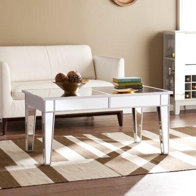 Mirrored Coffee Table willa arlo interiors markita mirrored coffee table & reviews | wayfair