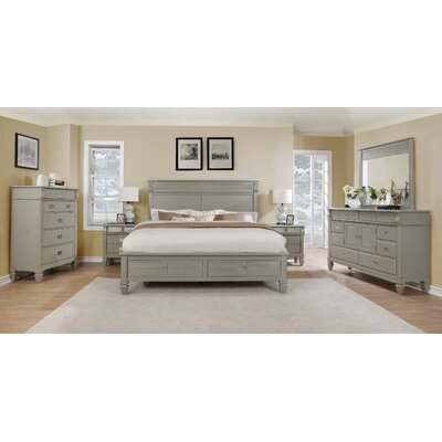 Bedroom Sets Real Wood rosecliff heights holland solid wood construction platform 6 piece