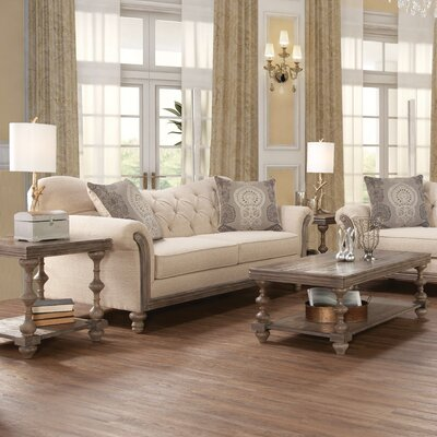 Bungalow Rose Serta Upholstery Vox 3 Piece Coffee Table Set Reviews Wayfair