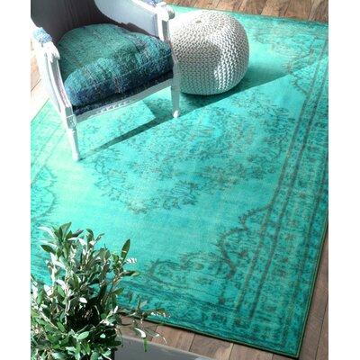 Delightful Bungalow Rose Xavier Turquoise Area Rug U0026 Reviews | Wayfair