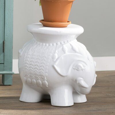 Bungalow Rose Santa Elephant Garden Stool Reviews Wayfair