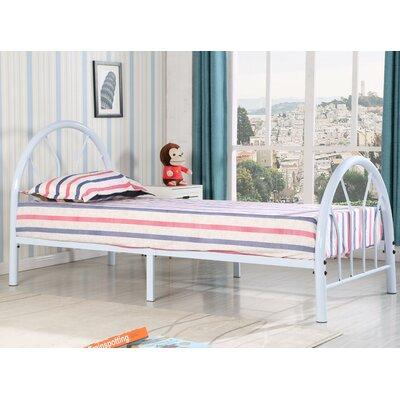viv rae jonathon twin metal bed reviews wayfair - Twin Iron Bed Frame