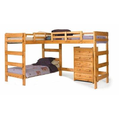 Viv Rae Deondre L Shaped Bunk Bed & Reviews
