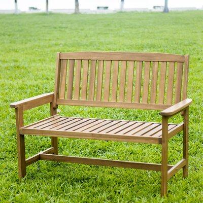 Hrh Designs Wood Garden Bench & Reviews | Wayfair
