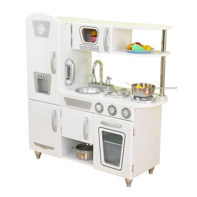 Kidkraft Kitchen White kidkraft vintage kitchen & reviews | wayfair