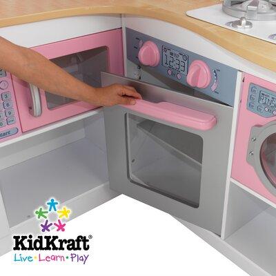 kidkraft grand gourmet corner kitchen & reviews | wayfair