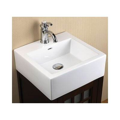 Ronbow Bathroom Sinks ronbow ceramic rectangular vessel bathroom sink with overflow